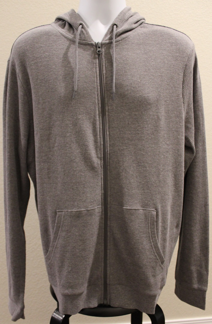 PFC gray hoodie front